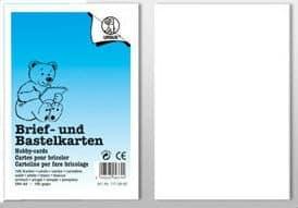 URSUS Brief- und Bastelkarten A6 weiß, Einfachkarten, 100 Stück | Bejol Bastelshop