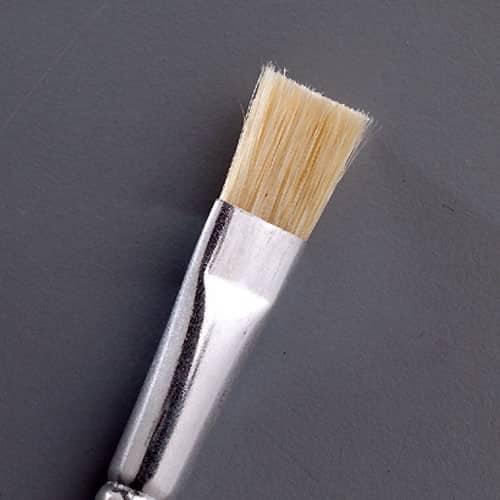 Gussow-Pinsel flach, Größe 14, 12er-Pack | Bejol Bastelshop