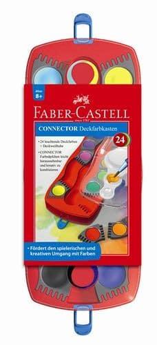 Farbkasten Faber Castell 125031 Connector mit 24 Farben | Bejol Bastelshop
