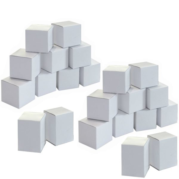 Adventskalender Rohling - 24 Boxen blanko weiß zum Bemalen und Befüllen | Bejol Bastelshop