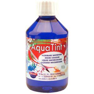 Aquarellfarbe flüssig