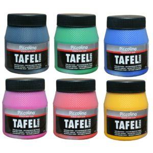 Piccolino TafelFarbe 250ml - in 15 bunten Farben