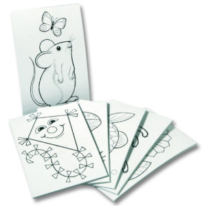 Ausnähbilder Stickkarten